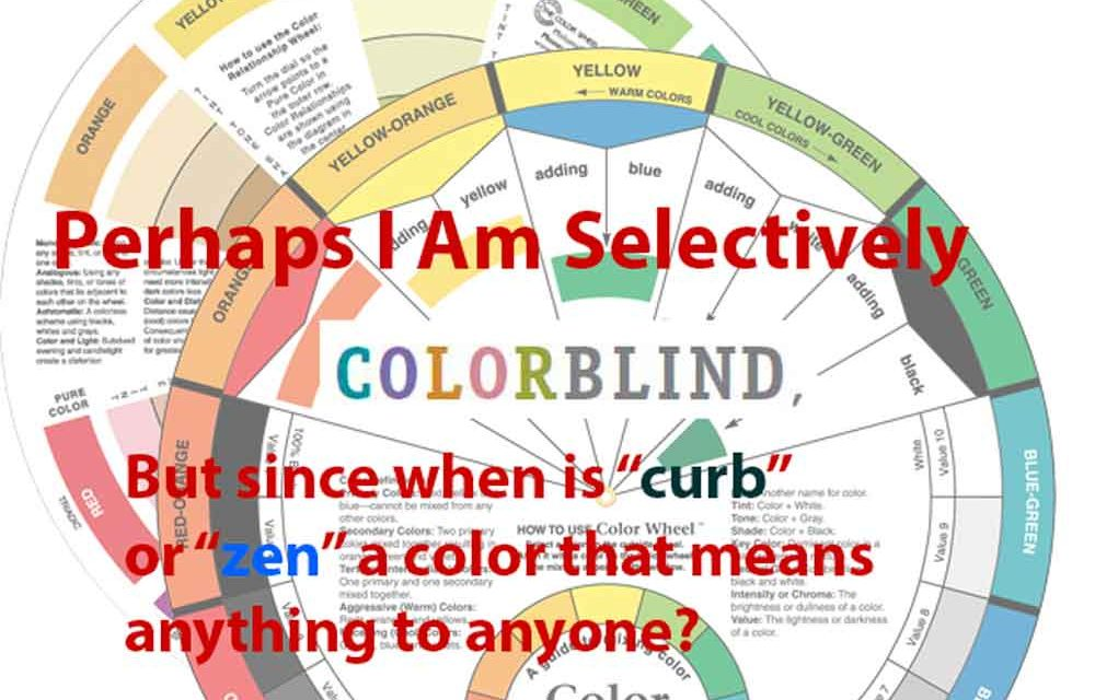 Confused by color naming — am I now color blind?
