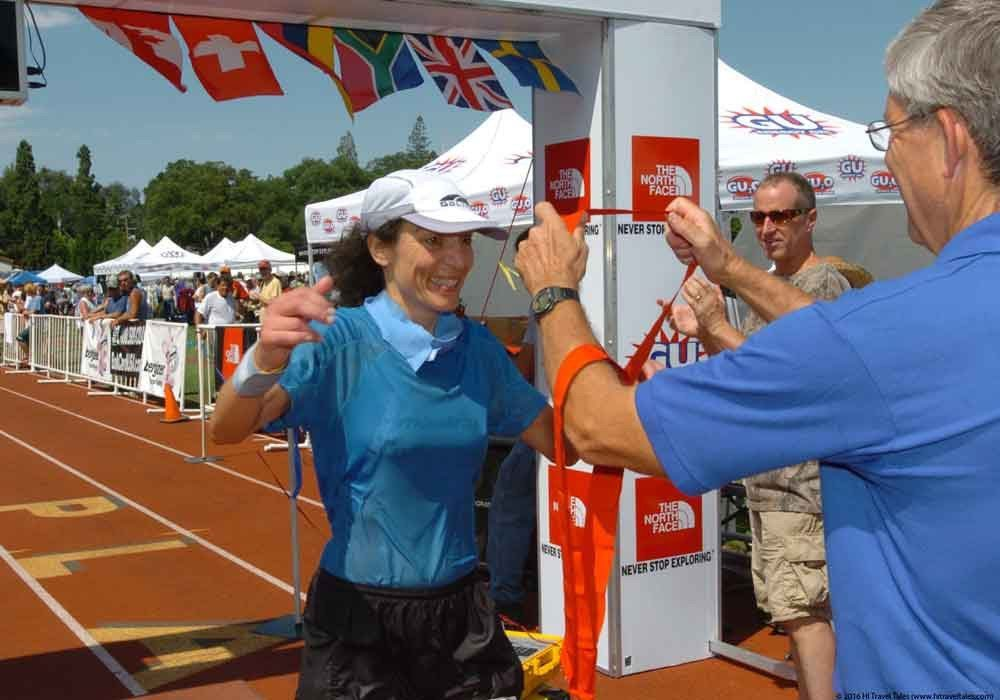 Official Western States 100 finisher Therese Iknoian