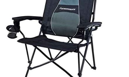 Strongback Chair Review: A camp chair with support