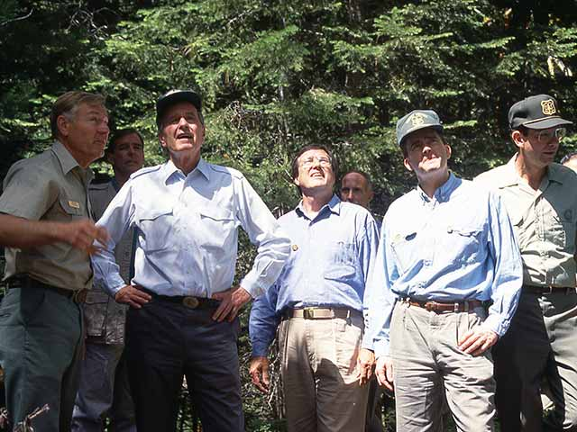My Hike With President Bush in Sequoia National Park