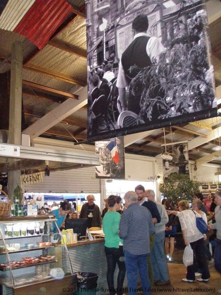 Auckland French Market is a bustling place