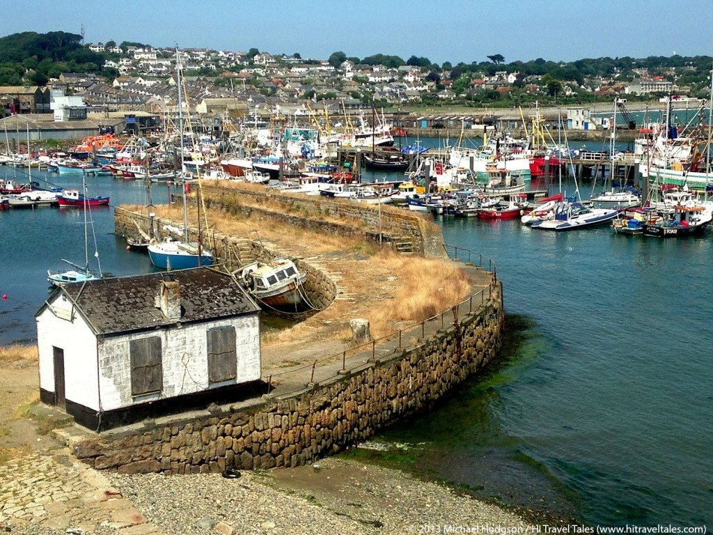 Visit Cornwall and the town of Newlyn