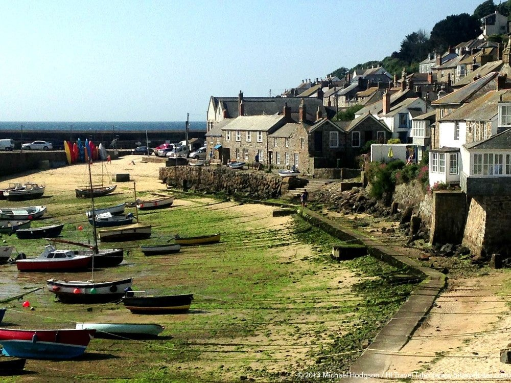 Visit Cornwall Mousehole Harbor Boats