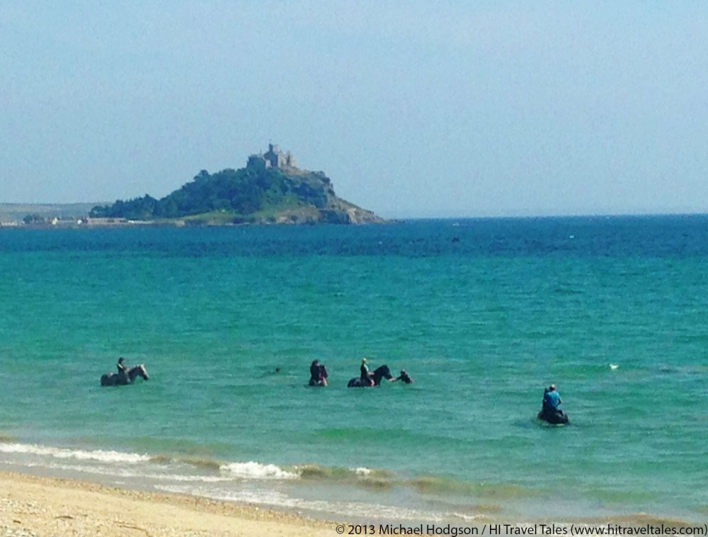 Visit Cornwall Horses Near St Michael's Mount