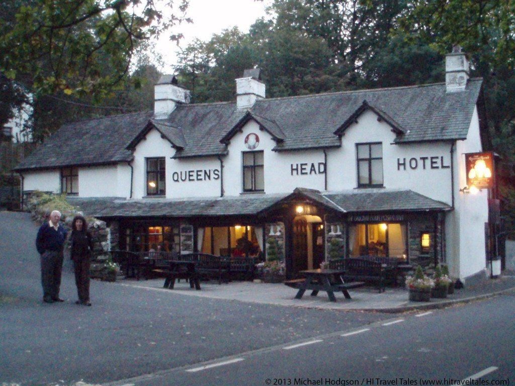 Visit the Lake District -- Historic Queens Head Hotel.