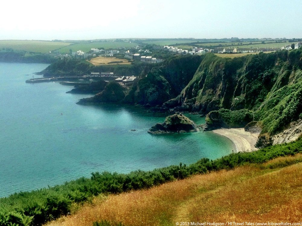 Visit Cornwall and the coastal path near Pentwean