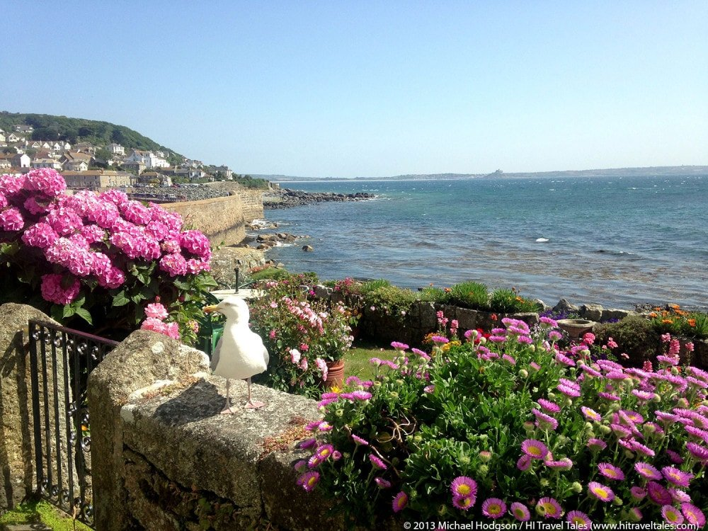 Visit Cornwall and the lovely village of Mousehole.