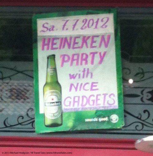 fun and funny photos Heineken party