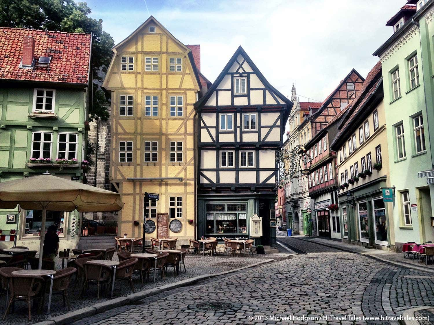 Quedlinburg city center