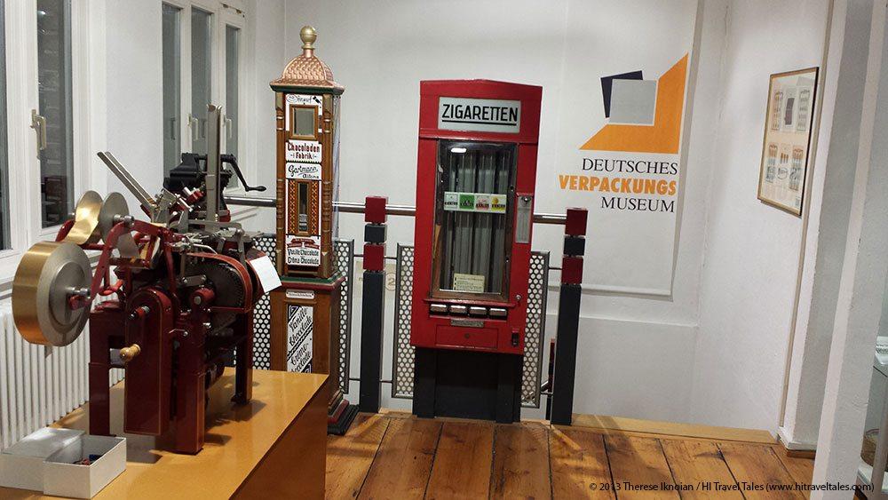 Visit a Packaging Museum? In quaint Heidelberg?