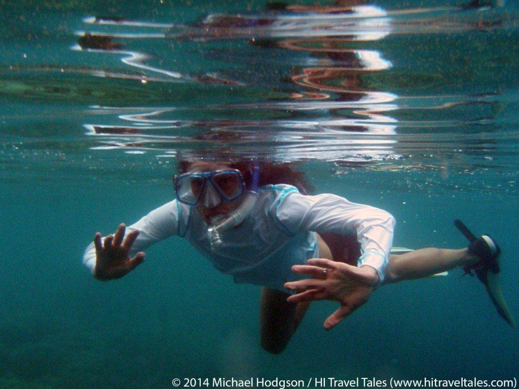 warm water snorkeling in Fiji