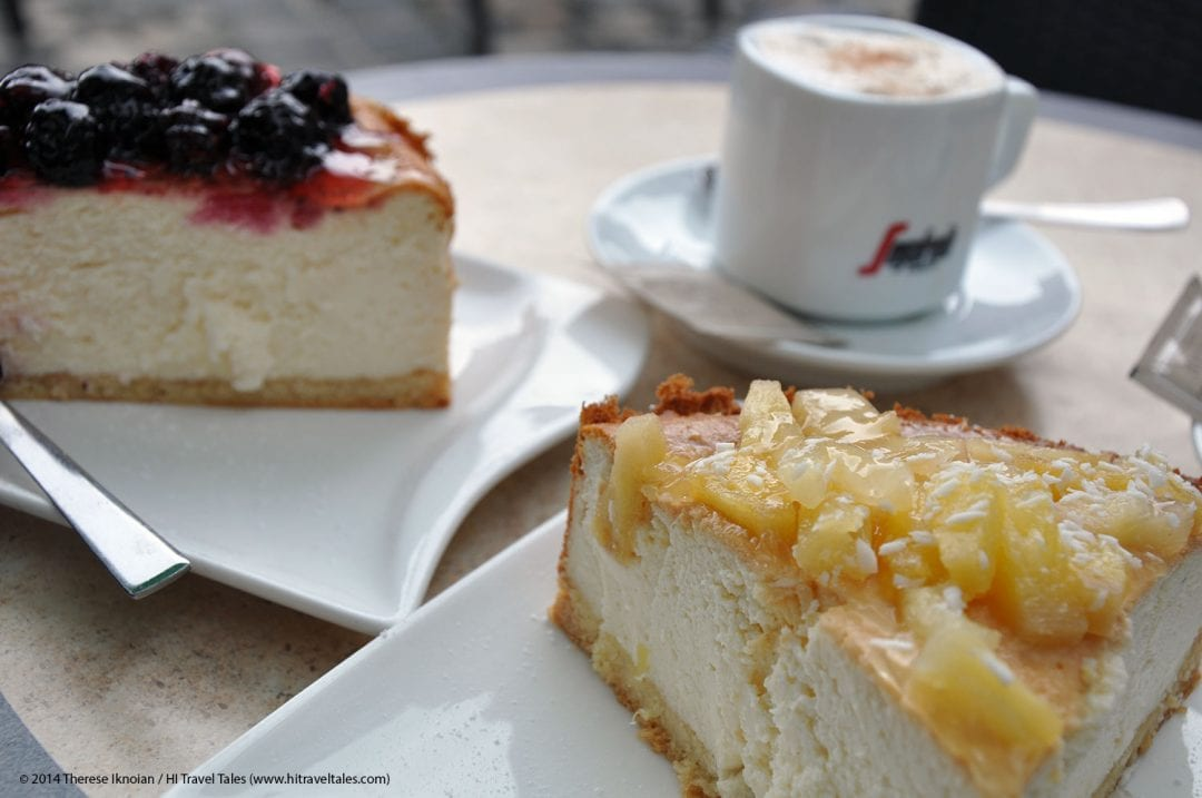 Cafe Kasekuchenbackerei is pure, delicious, cheesecake decadence.