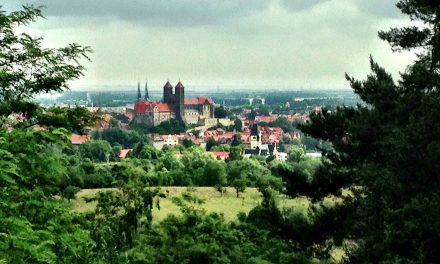 Old Watch Tower in Quedlinburg worth a visit