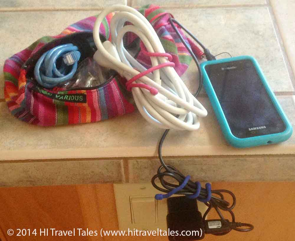 Nite Ize Gear Ties are perfect travel comfort items