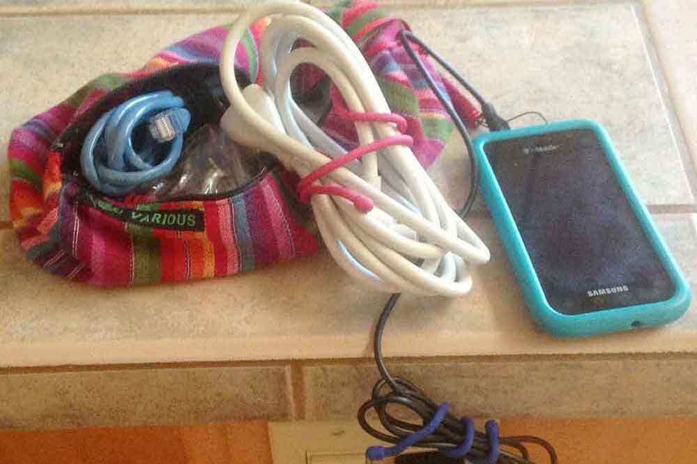 Nite Izes gear ties travel essentials.