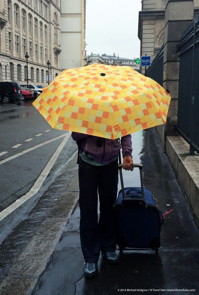 Euroschirm Umbrella is light and perfect for traveling.