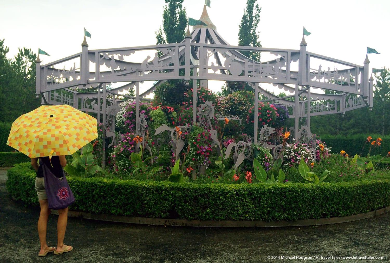 Euroschirm umbrella is light and compact
