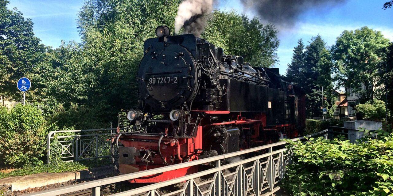 Harz mountain Brockenbahn railway is narrow gauge wonder