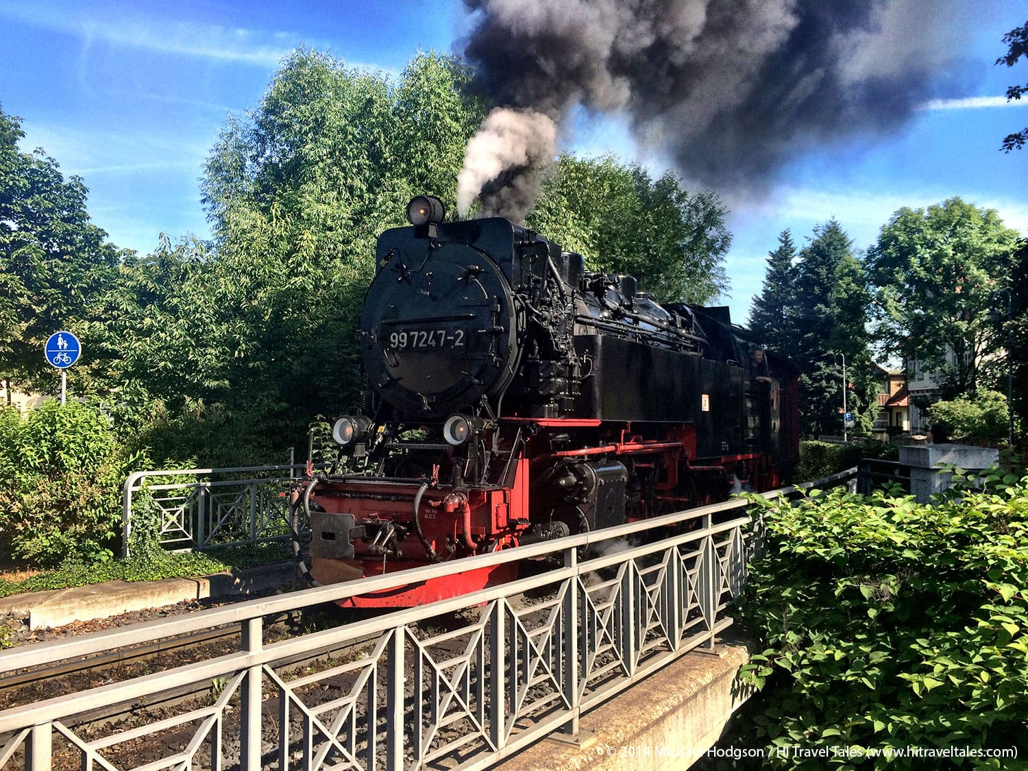 Harz mountain Brockenbahn railway is narrow gauge wonder