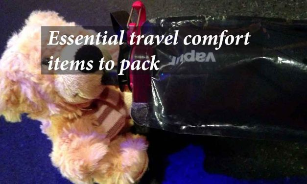 Essential Travel Comfort Items To Pack