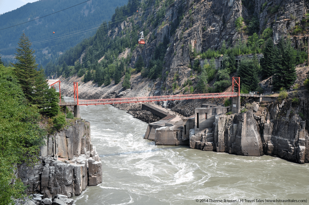 Rocky Mountaineer at Hells Gate