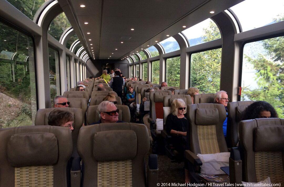Rocky Mountaineer Train Silver Leaf Service