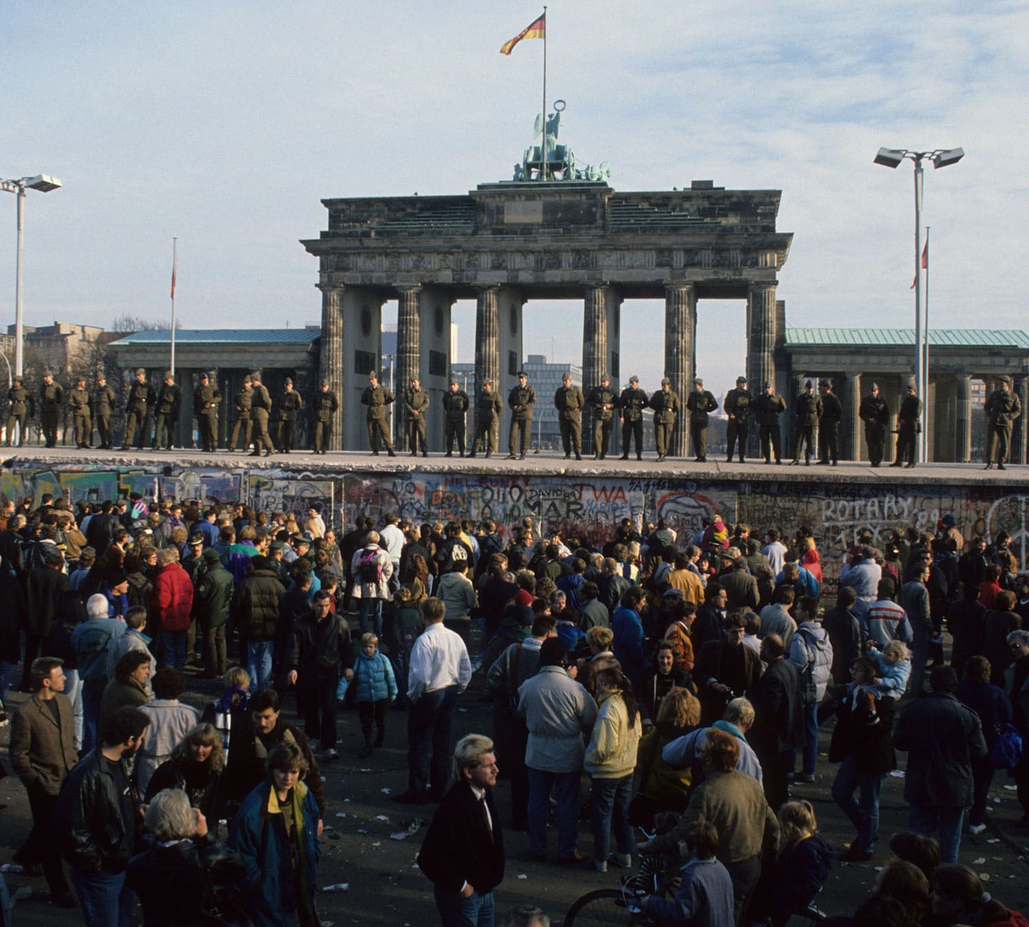 a personal account of the fall of the berlin wall in november of 1989 Margaret thatcher remarks on the berlin wall london, england, november 10, 1989, margaret thatcher margaret thatcher discusses the fall of the berlin wall.