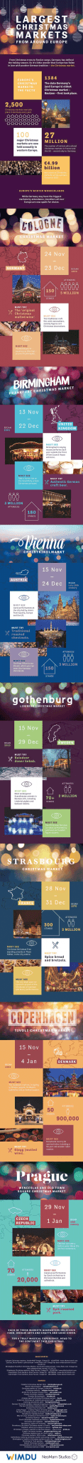7 largest christmas markets around the world infographic