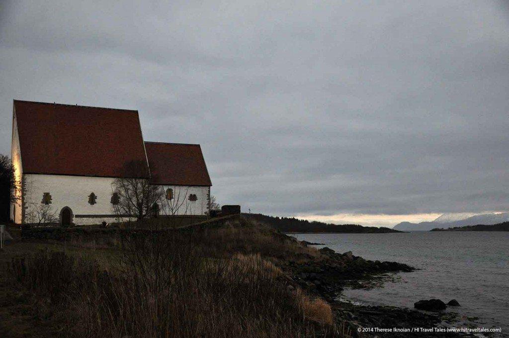 Trondenes church in Harstad Hurtigruten Cruise Excursion