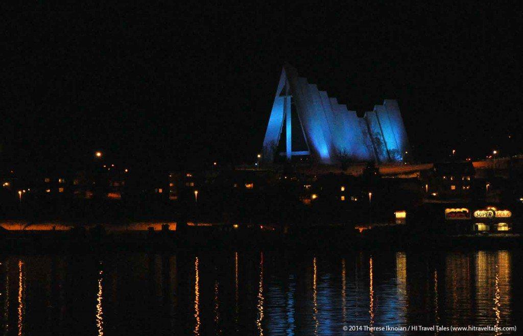 Arctic Cathedral Tromso Hurtigruten Cruise Excursions