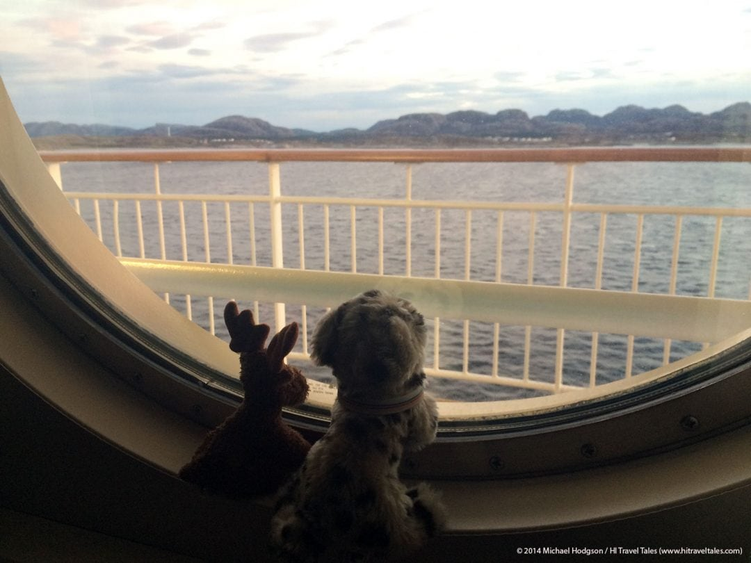 Hurtigruten Cruises window view