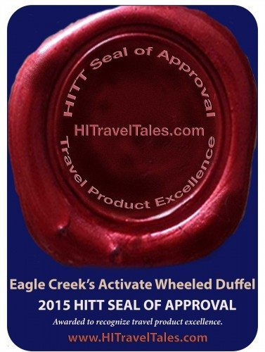 Eagle Creek Activate Wheeled Duffel wins HITT Seal of Approval 2015