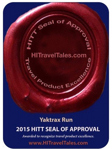 Yaktrax Run winter traction device wins HITT Seal of Approval 2015
