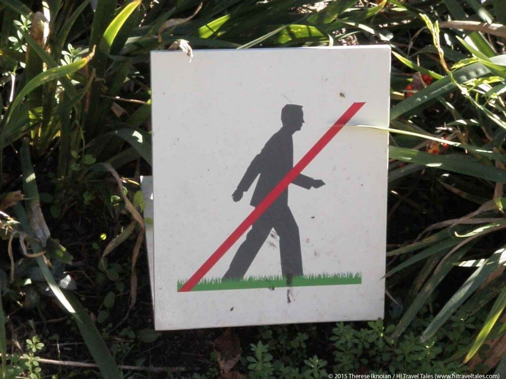 Travel Fitness Tips dont walk here