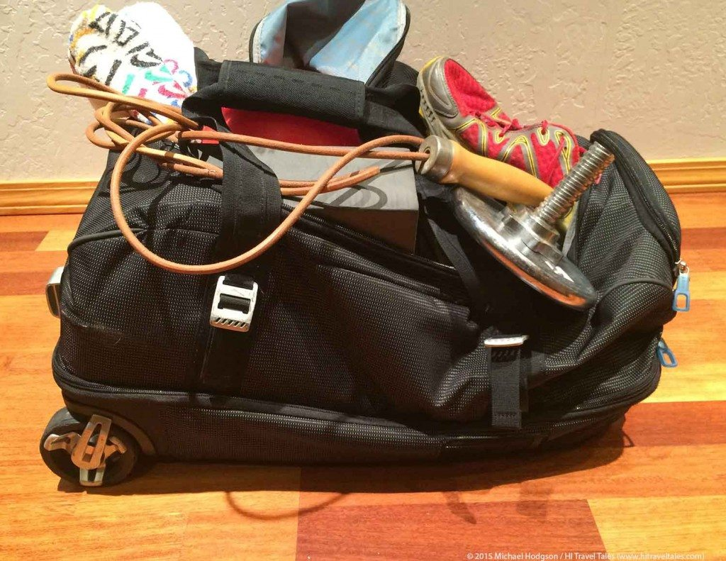 Travel Fitness Advice Luggage
