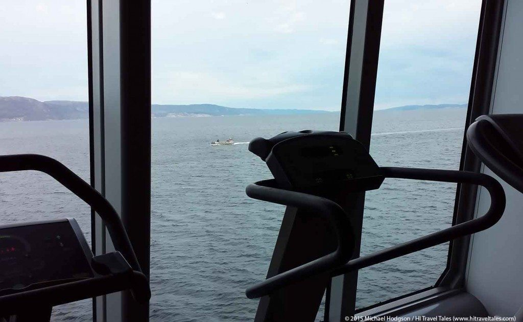 Travel Fitness Tips Hurtigruten Workout Room