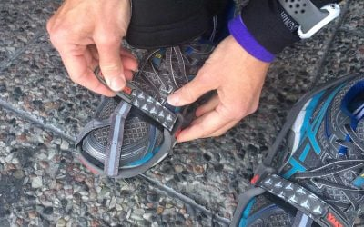 Yaktrax Run: winter traction on ice and snow