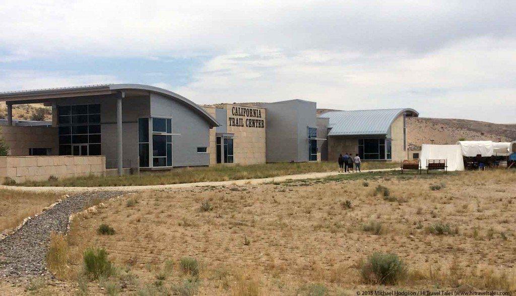 California Trail Interpretive Center outside