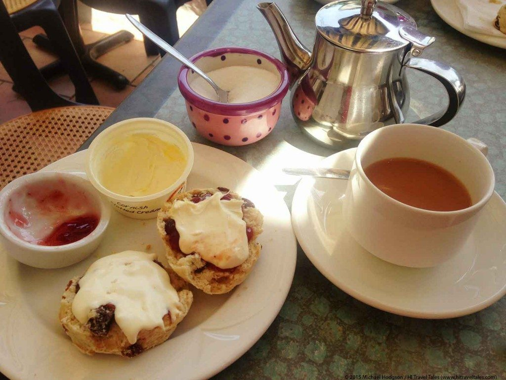 Visit Cornwall Cornish cream tea