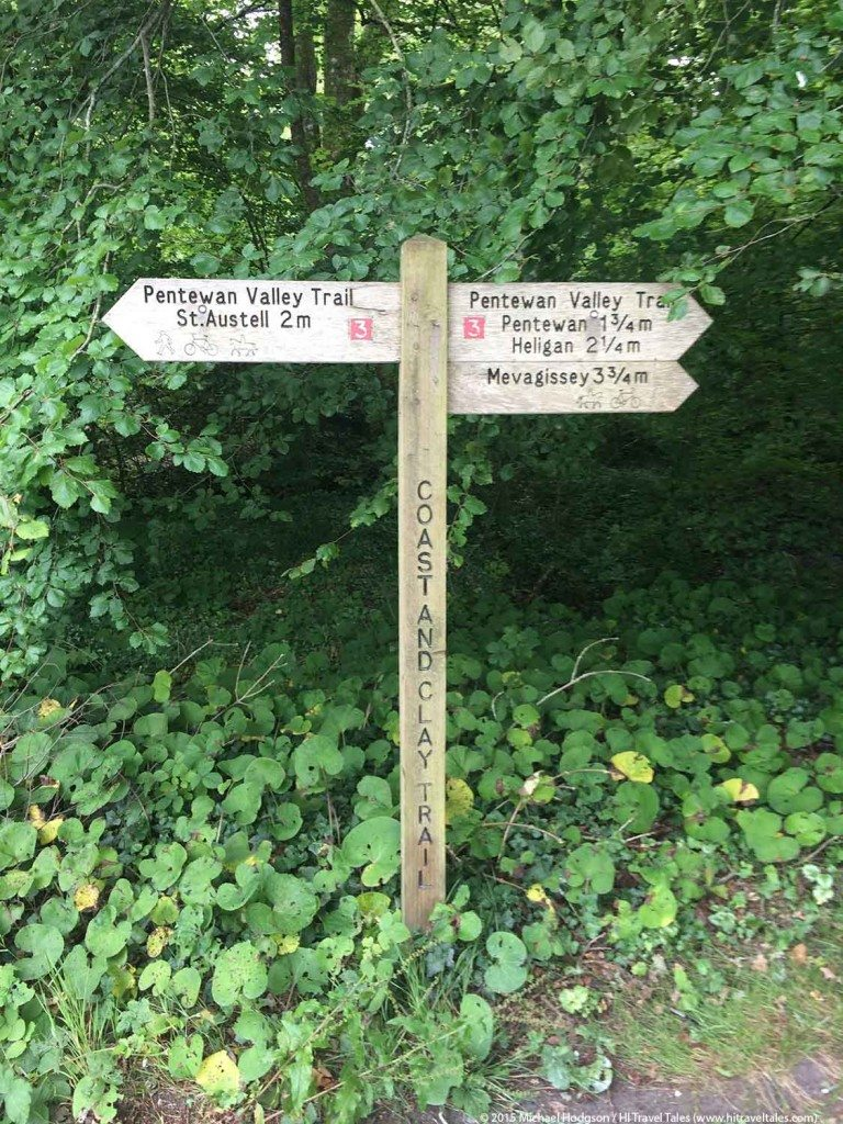 Visit Cornwall paths near Pentewan