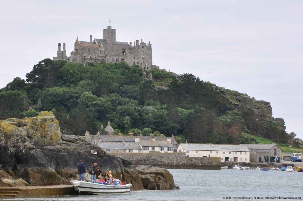 Visit Cornwall ferries take visitors across to St Michael's Mount whenever the tide is high.
