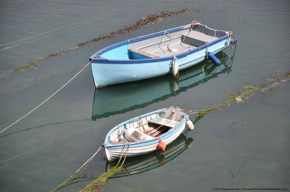 Visit Cornwall Mevagissey harbor boats