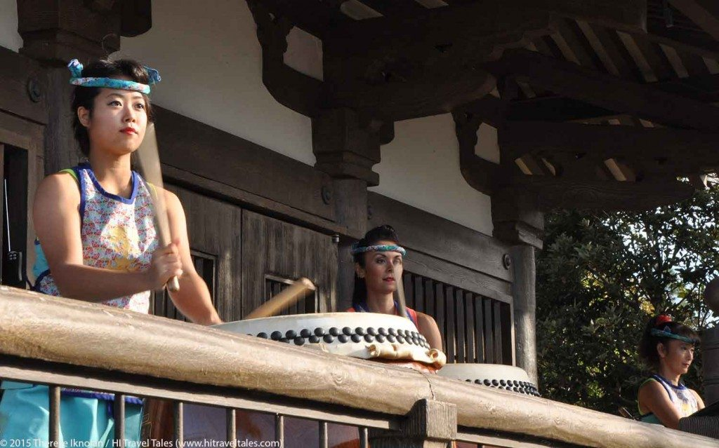 Walt Disney World travel tips -- taiko drummers at Epcot are a must