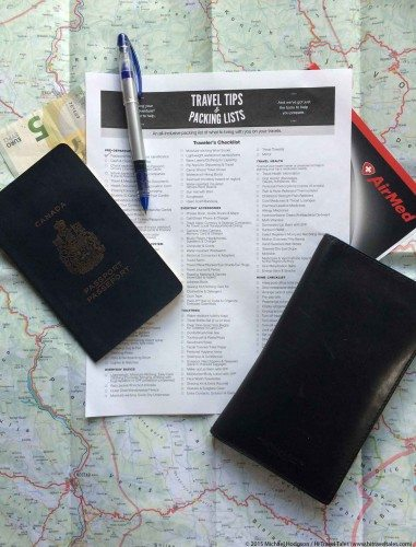Pack Smart Traveler Checklist