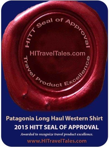 Patagonia Long Haul Western Shirt HITT Seal of Approval
