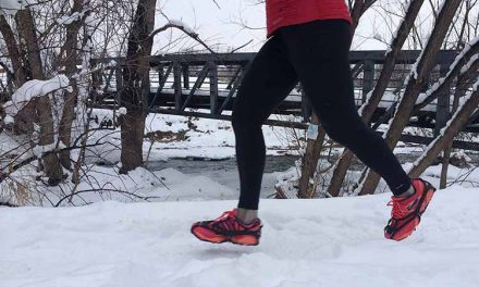 Kahtoola Nanospikes: winter running traction