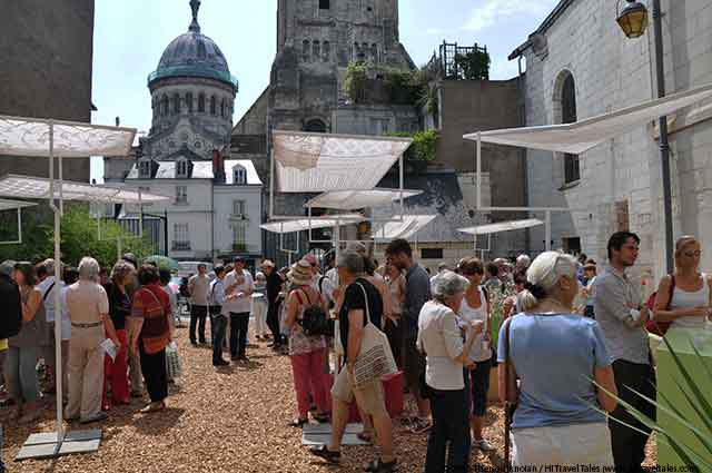 Loire Valley Concerts food tasting fair