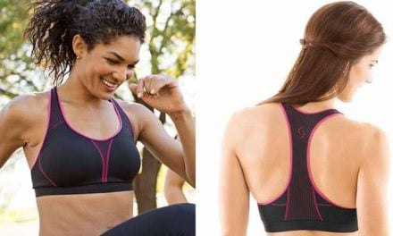 Brooks JustRight Racer sports bra travels great