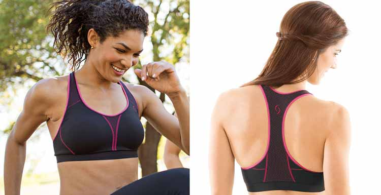 Moving Comfort JustRight Racer sports bra travels great