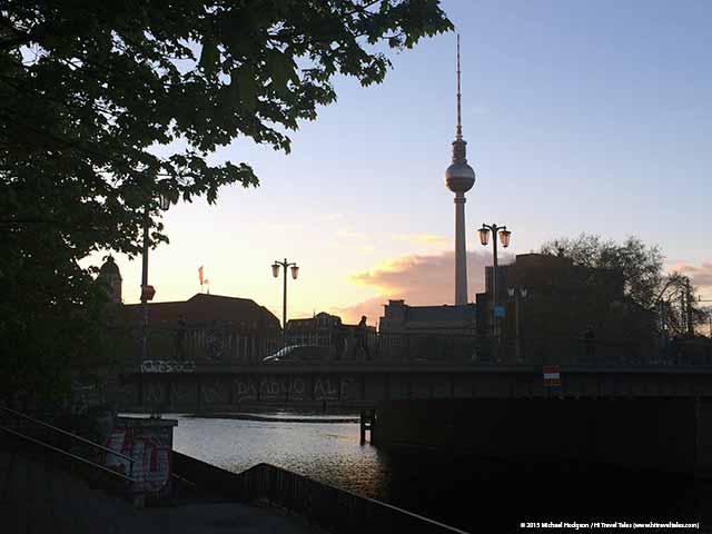 Discover Berlin Walking sunset
